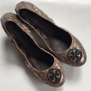 NWOT Tory Burch leather flats